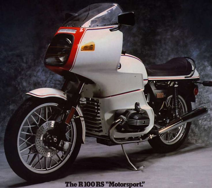 Bmw r100rs would love to have one paint it pearl white for Factory motor parts portland
