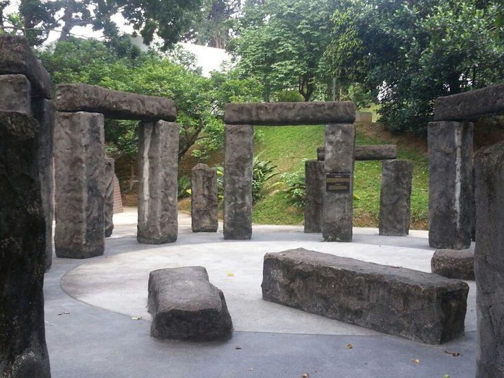 A replica of the Stonehenge in Perdana