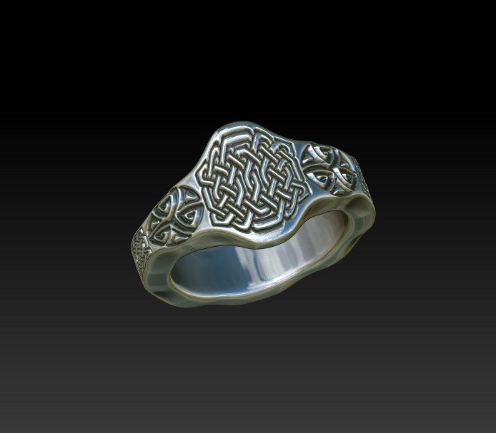 Excited to share this unisex signet ring #etsy shop: signet wedding ring mens signet ring womens signet ring celtic ring celtic band wedding band ladies signet ring mens celtic ring TR1 http://etsy.me/2n28wmV #jewelry #ring #silver #unisexadults #celtic #celticring #weddingring