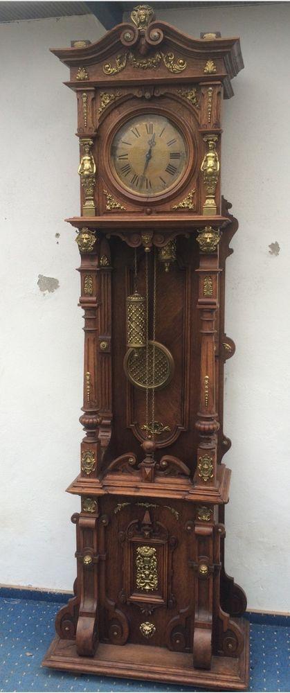 Traumhaftschöne Alte Lenzkirch Lfs Standuhr Um 1850 Museumsstück !