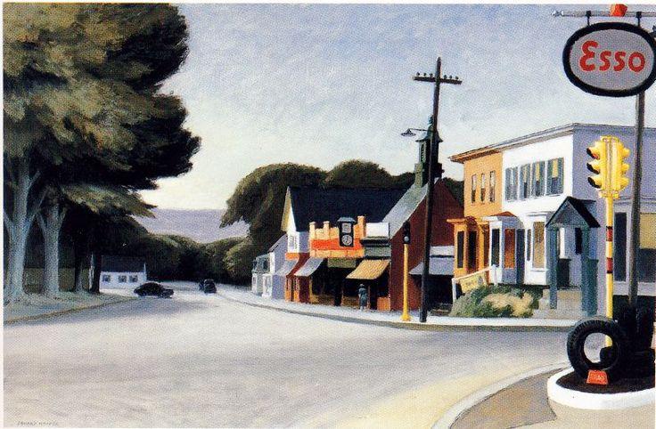 Histoire des arts de Rombas: Hopper et l'ultra moderne solitude américaine