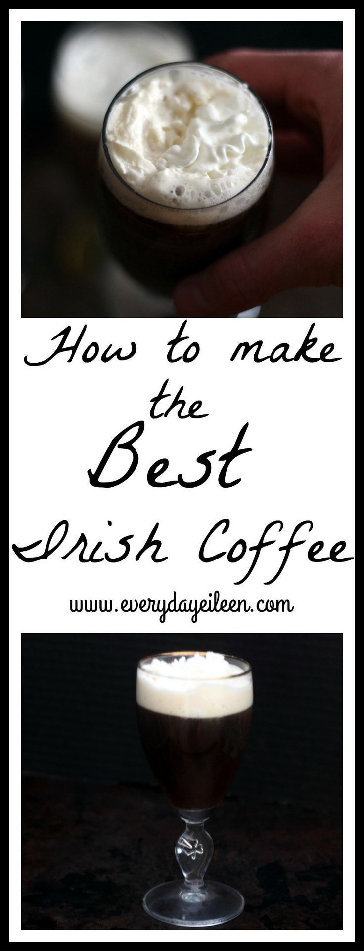 Get the easy instructions to make the best Irish Coffee at home! Your friends and family will request this one often! Perfect on Saint Patrick's Day and any celebration!