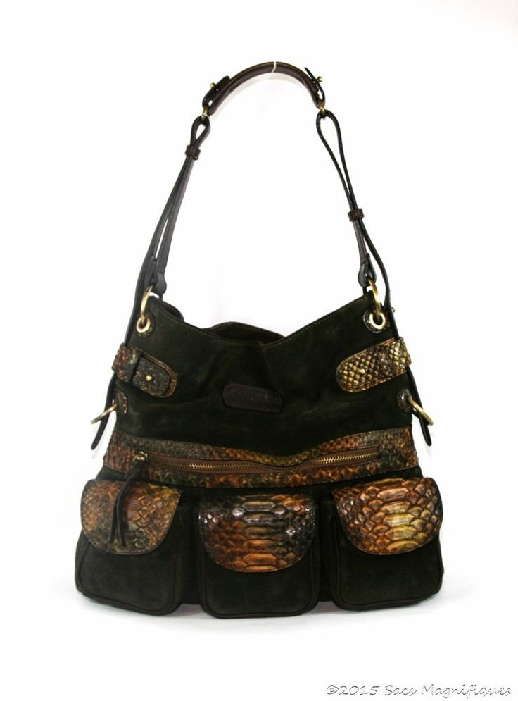 66a00df28f2 Snap Ghurka Classic Dark Olive Leather Hobo Bag Tradesy photos on ...