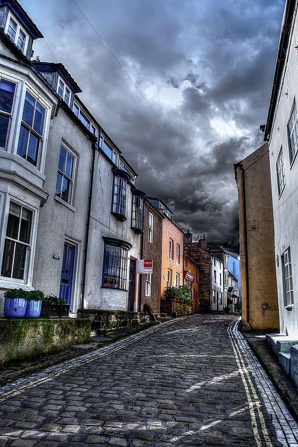 rain clouds in england