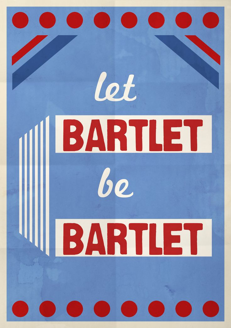how awesome is this?  let bartlet be bartlet, the west wing