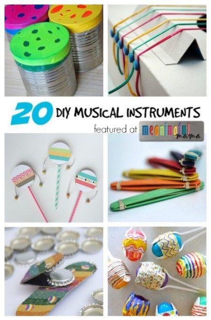 DIY Musical Instruments - Homemade Fun for Kids