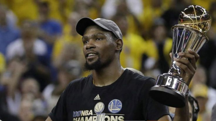Now Playing: NBA MVP Kevin Durant reacts to Warriors win       Now Playing: Warriors win Game 1 of 2017 NBA Finals       Now Playing: 'Rough Night' star Kate McKinnon reveals which of her 'SNL' characters she'd invite to her bachelorette party       Now Playing:... - #Durant, #Finals, #GMA, #Hot, #Kevin, #List, #MVP, #NBA, #Reacts, #TopStories