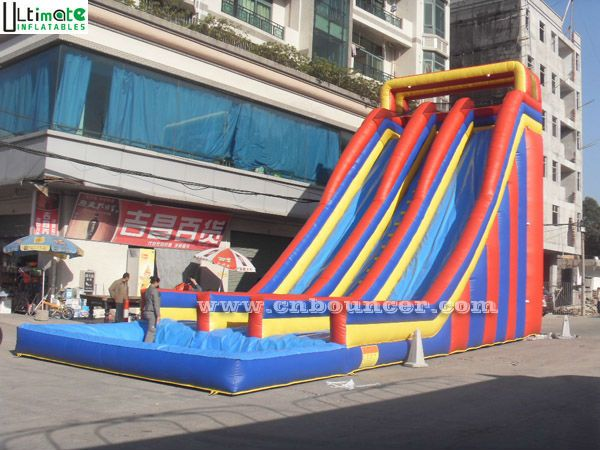 10 mts high giant inflatable water slide for adults  2000  3000Inflatable Water Slide For Adults