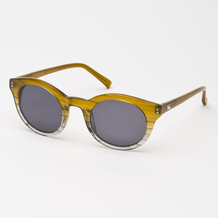 Eyewear - Kate Sylvester Sunglasses: Patti - Toffee Grey