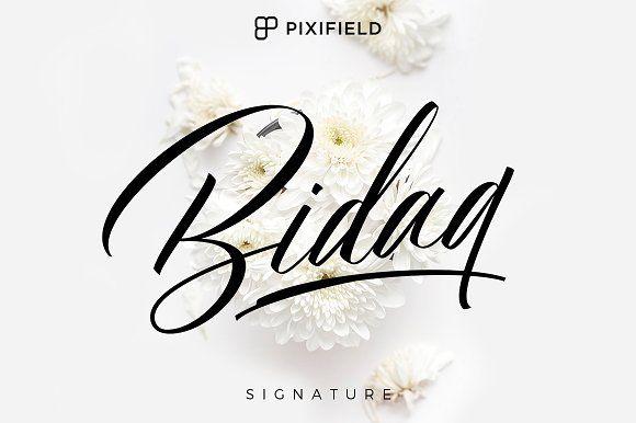 Bidaq by Pixifield on @creativemarket
