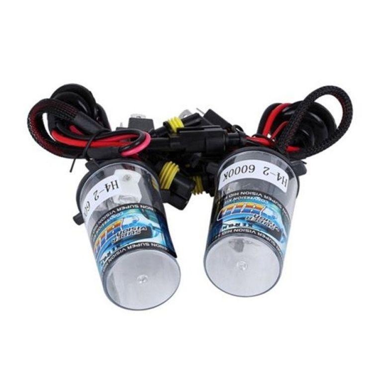 ราคาพิเศษตอนนี้<SP>CatWalk Bright Bi Xenon Light HID Conversion 12V 35W H4 2 5000K (Multicolor)++CatWalk Bright Bi Xenon Light HID Conversion 12V 35W H4 2 5000K (Multicolor) Voltage Input:9-16V Voltage Norm.:13.2V Current Norm.:4.2A Power Output:35W Current in Max:6A Working Temperature:-40 ~ +10 ...++