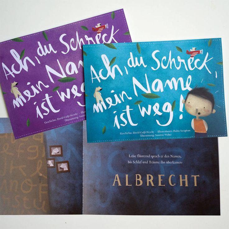 """Personalisiertes Kinderbuch """"Ach du Schreck, mein Name ist weg!"""""""