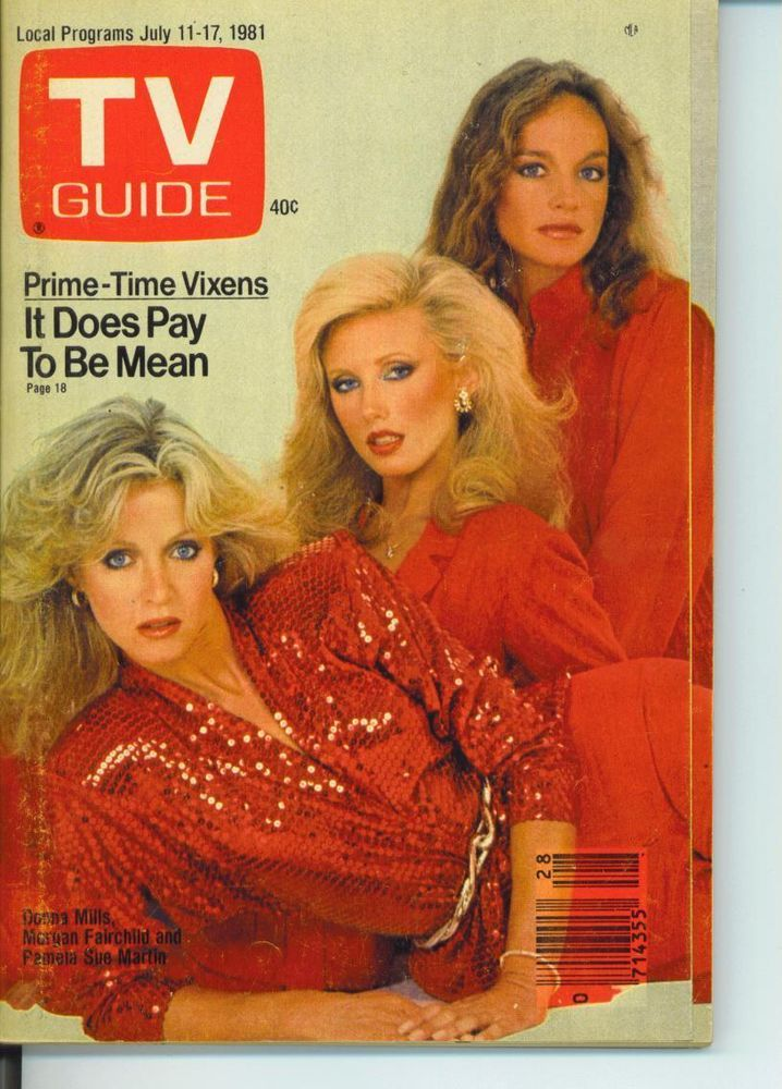 CHICAGO TV GUIDE 7-11-1981 PRIME TIME VIXENS~BERNARD KALB~DONNA MILLS