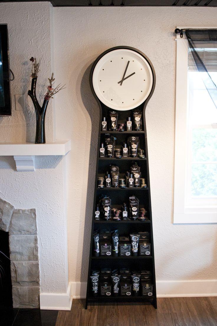 Clock with TokyoMilk Dark inside