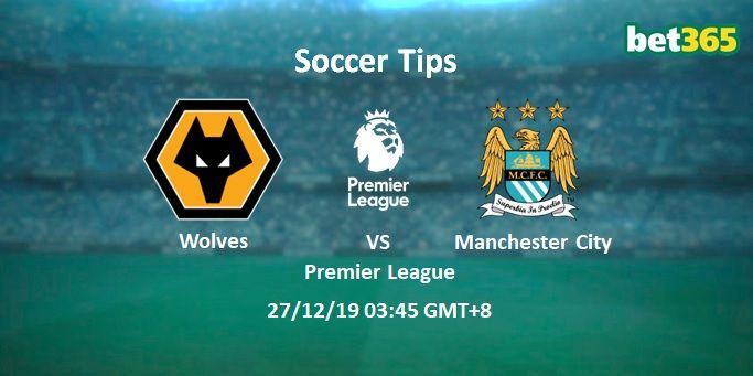 Wolves Vs Manchester City Prediction Betting Tips 27 12 2019 Manchester City Football Picks Manchester