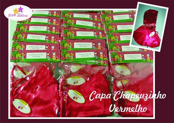 Capa Chapeuzinho #bydmesteves