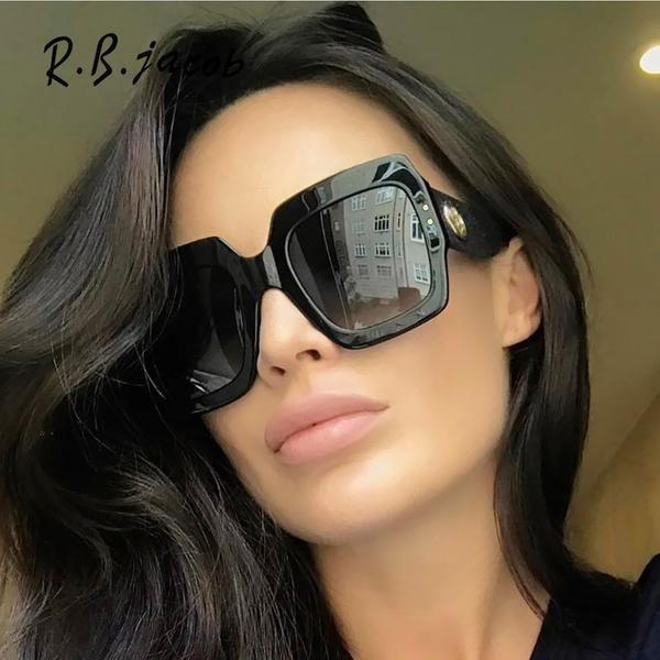 #SUNGLASSES #NEW 2017 Fashion Oversize Women Sunglasses Brand Designed Hipster Charm Lady Sun Glasses High Quality Goggle Vintage UV400 Hot…