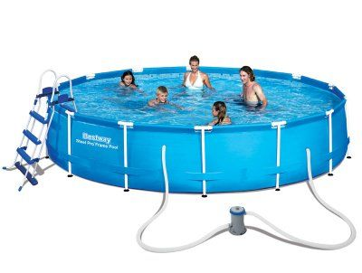 13 best BESTWAY בריכת צינורות עגולה images on Pinterest - pool fur garten oval