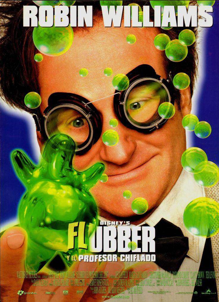 1997 - Flubber y el profesor chiflado - Flubber - tt0119137