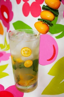 Christmas Cocktail #7- Kumquat & Meyer Lemon Mojito