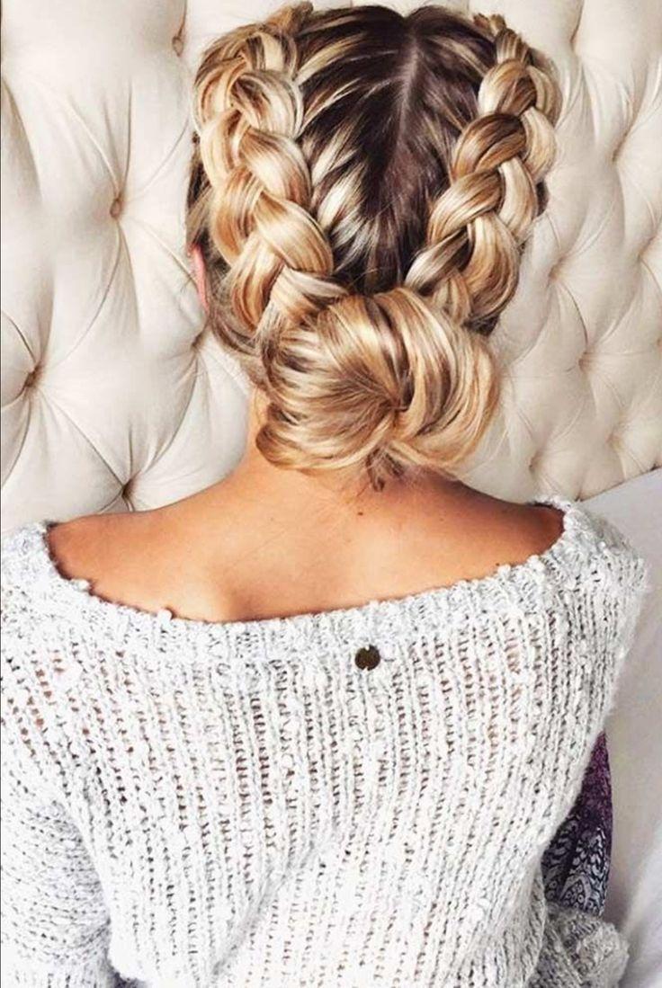 Awe inspiring pinterest the world39s catalog of ideas updo hairstyles - Headband Bundouble Headbandheadbandswaitress Hairstylesto Lose Weightgoddess Hairball Hairbun Tutorialshair Raising