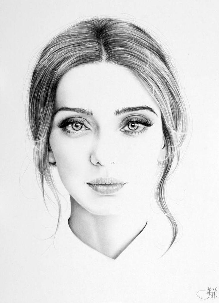 Лица картинки нарисованные