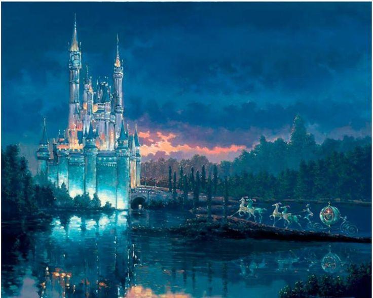 Rodel Gonzalez painting of Cinderella