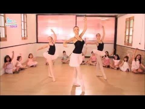 Clase de ballet para principiantes. Ejercicios. - YouTube