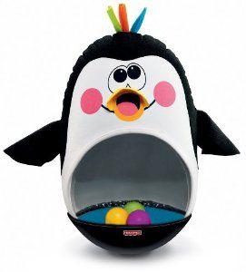 Amazon.com: Fisher-Price Go Baby Go! Bat and Wobble Penguin: Toys & Games