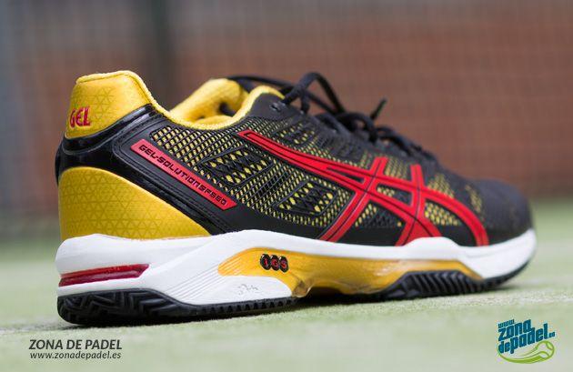 Asics Speed Solution 2, las auténticas zapatillas de padel #asics #padel #zapatillas