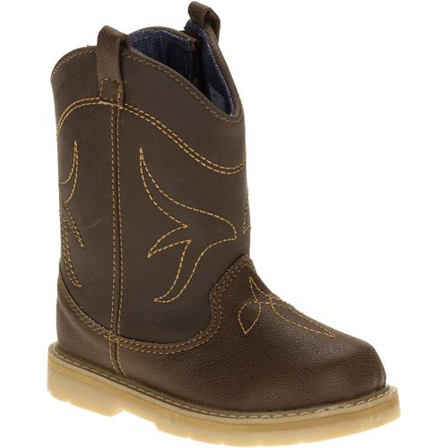 Natural Steps Toddler Boys' Clyde Cowboy Boots