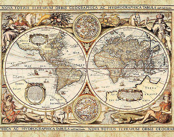 Old world map - 111 Best Old World Maps Images On Pinterest Old Maps, Antique