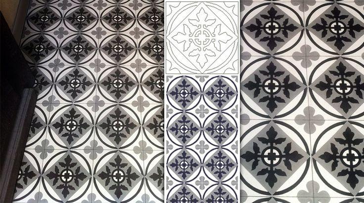 17 best images about carreaux ciments on pinterest - Mosaic del sur tiles ...