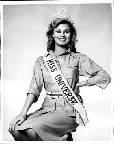 Anne Pohtamo Miss Universe 1975