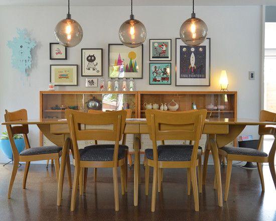 childish dining room ideas  #KBHome, like lights