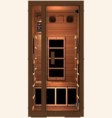 discover our person freedom far infrared sauna comes with six ultra low