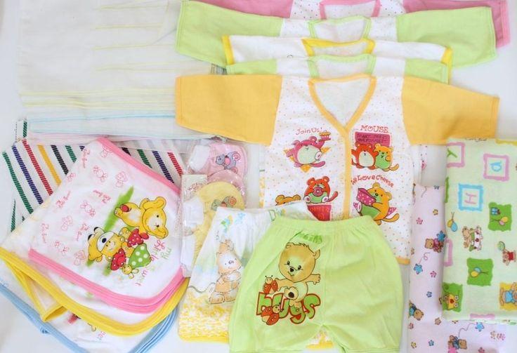 Baju dan Perlengkapan Bayi Baru Lahir dan Ibu Melahirkan