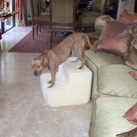 Free Shipping. Buy Pet Stairz Big Dawg Foam 2 Step Pet Stair With Sherpa Cover at Walmart.com