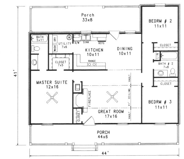 40 best House Plans images on Pinterest Country house plans