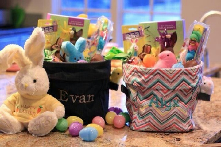 Easter!!!: Gifts Baskets, 31 Gifts, 31 Ideas, Utility Bins, Easter Baskets, Minis Utility, Baskets Ideas, Easter Ideas, Thirty On