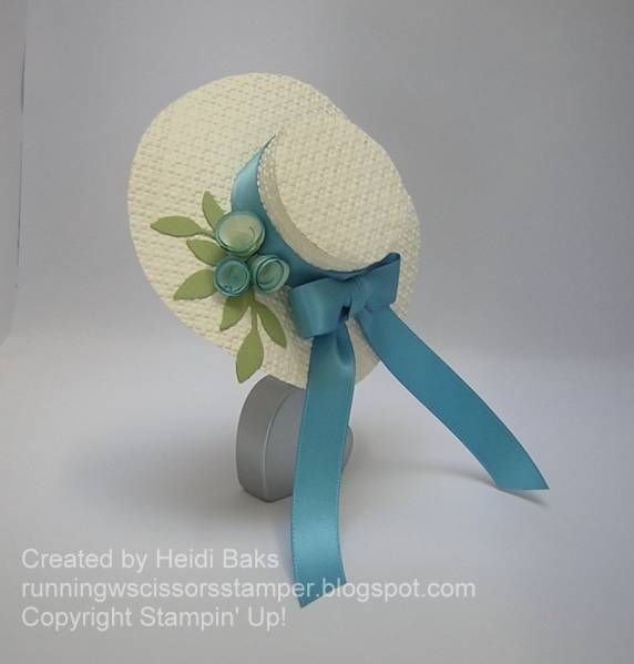 Easter Bonnet by hlw966 - Cards and Paper Crafts at Splitcoaststampers