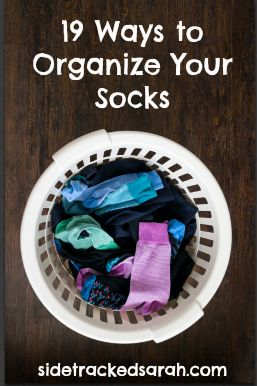 Best 25 Organize Socks Ideas On Pinterest Organizing