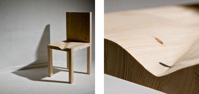 "Matylda Krzykowski, ""Modus Operandi"", 2009, wooden chair. Photo courtesy of the artist."