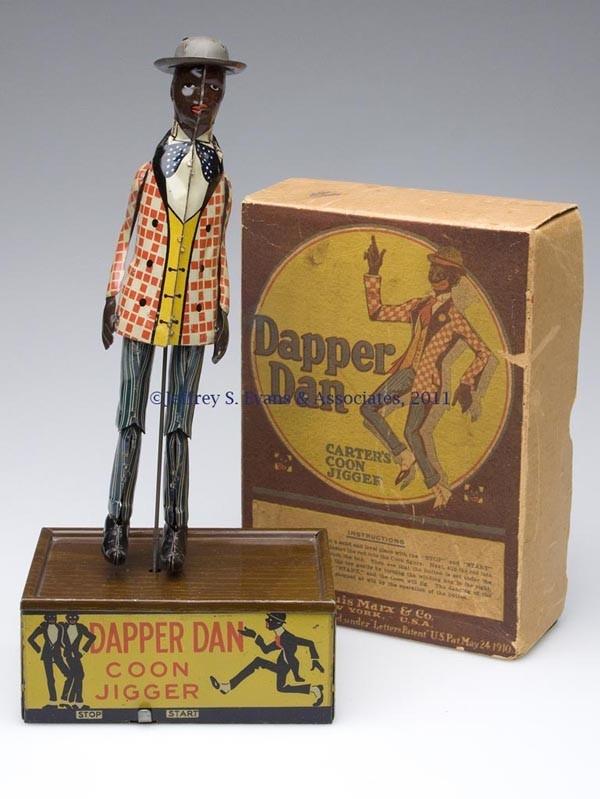 Tin Toy Dapper Dan Jigger