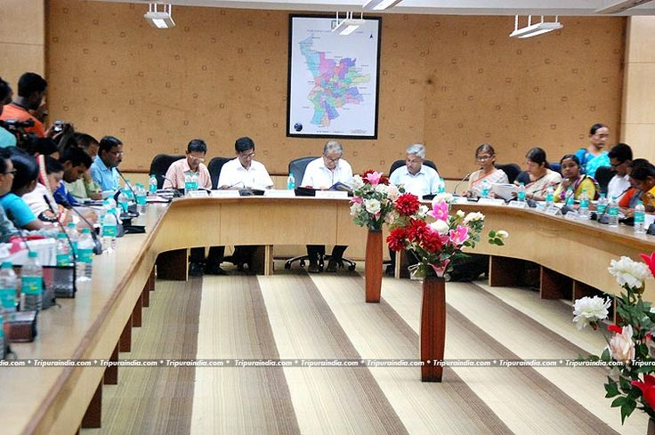 AMC Mayor Dr. Prafullajit Sinha declared Budget at AMC Office Agartala on 16 June 2016 http://www.tripuraindia.com/