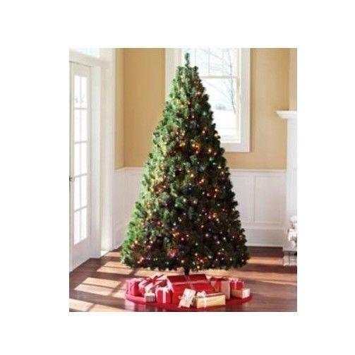 "Pre Lit 6.5 Madison Pine Artificial Christmas Tree Pre Lit Xmas Tree 42"" base #PreLit65MadisonPine"