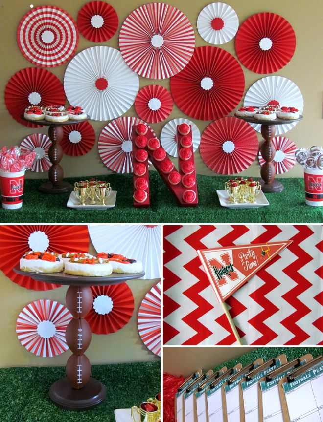 Cute Ohio State Party Decor Andrews Graduation