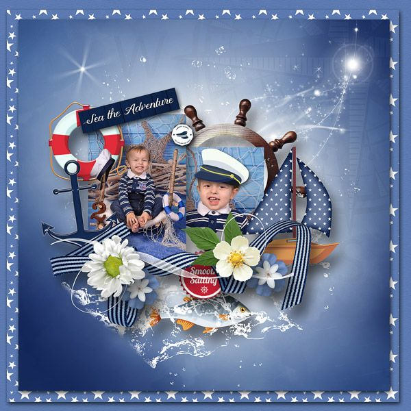 """""""Sea the Adventure"""" by Dafinia Design, http://digital-crea.fr/shop/index.php?main_page=product_info&cPath=155_366&products_id=24048&zenid=270016d6f24e03679afde26be83f6dba, RAK for a friend Lucie Burdová-Dostálová"""