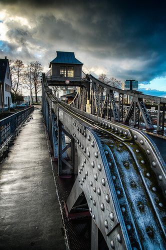 """""""drehbrücke Köln"""""""