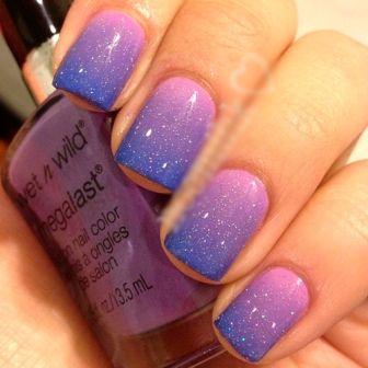 Galaxy Effect Nails #nails   See more at http://www.nailsss.com/...   See more nail designs at http://www.nailsss.com/nail-styles-2014/